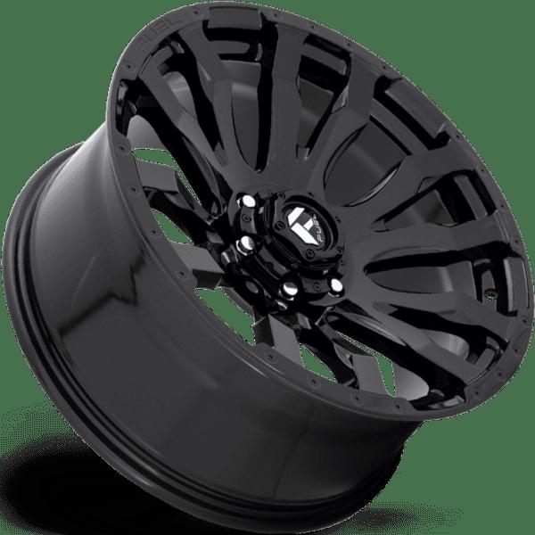 D675 BLITZ – GLOSS BLACK (6Lugs)