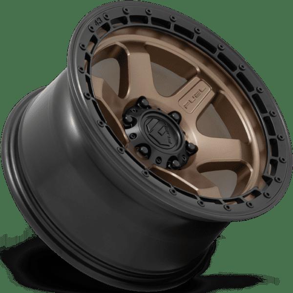 D751 BLOCK – MATTE BRONZE W/ BLACK RING